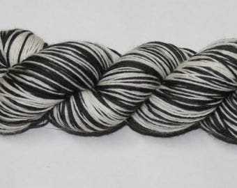 Jail Bird Self Striping Hand Dyed Sock Yarn