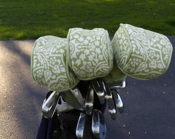 Women's Golf Club Covers, Golf Accessories, Custom Golf Clubs, Personalized Golf Accessories, Golf Club Head Cover Set