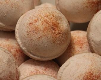 Cinnamon Bun Bath Bomb