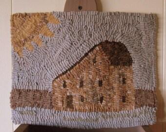 Stone House Primitive Rug