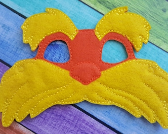 Tree Hugger Felt Mask - Party Favors * Birthday Parties * Dress Up * Halloween * Playtime