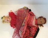 Antique Topsy Turvy Doll