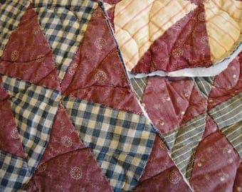 Antique Quilt Pieces | Vintage Quilt Pieces |  Old Cutter Quilt Pieces | 3 Cutter Quilt Pieces