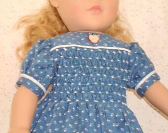 smocked dress for 18 inch dolls
