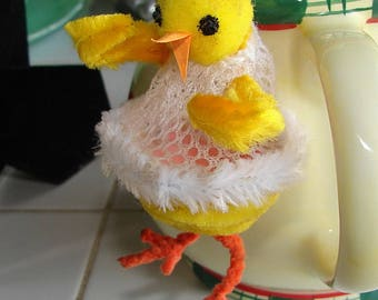 Chicken Easter Candy Net Bag Basket