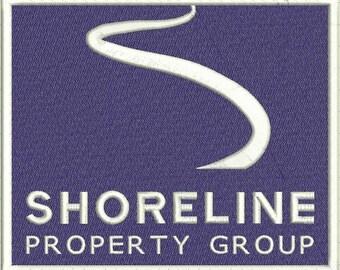 Shoreline Custom Digitized Embroidery Design (private listing)