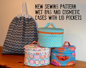 Sewing Pattern for Wet Bags and Cosmetic Cases