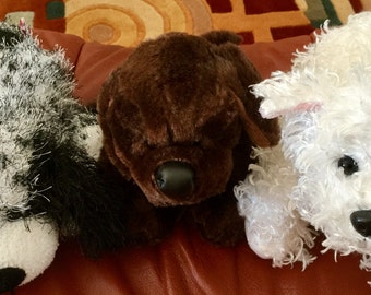 Puppy Collection Set of 3, Ganz and Ty Brands