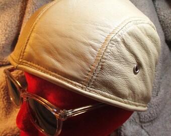 Pearl Color Lambskin Skullcap Doorag Headwrap