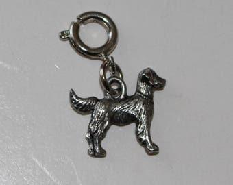 GOLDEN RETRIEVER Dog Zipper Pull