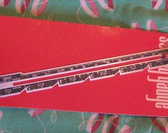 clinton sewing gauge