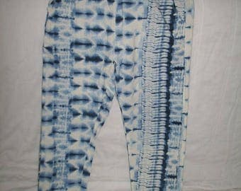 Size Small NWT Tie Dyed Rayon Long Pants from India