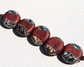 Polymer Clay Beads/Copper #2