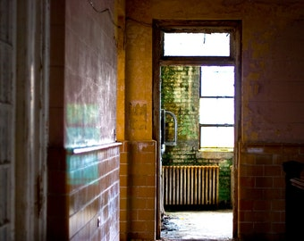 """Oversized Print - Urban Decay Photography - Up to 40x60"""" Print - Bain No. 0057"""