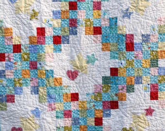 Irish Chain Baby Quilt