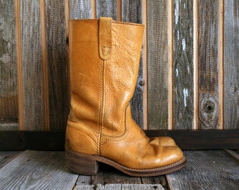 SALE- Leather Western Boots