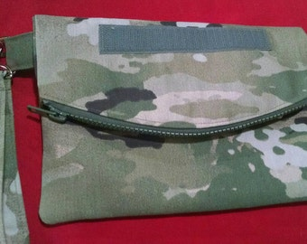 Sale: Use 15Off coupon to get 15% off, U S ARMY Multicam Small Fold Over Wristlet