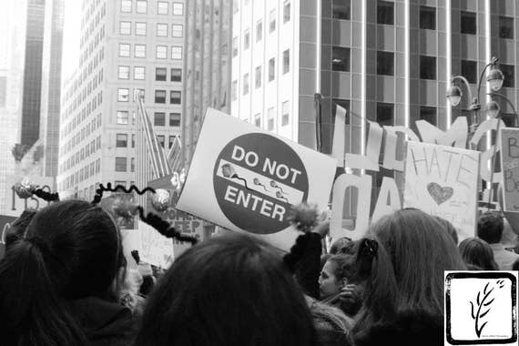 Protest, #shepersisted, resist, #womensmarch, Black and White Photograph, fine art, new york, photo print, photography, wall art, home decor