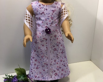 TIME FOR TEA - Purple - 13-Piece Set for 18-Inch Dolls