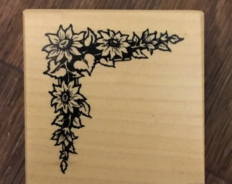 PSX Rare Wood Mounted Rubber Stamp