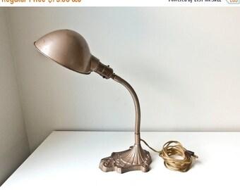 Sale Antique Goose Neck Desk Lamp