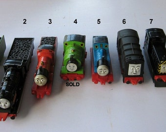 Thomas The Tank Engines Vintage Diecast Assortment 1984-1993