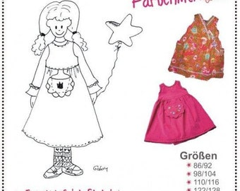 Farbenmix Lily childrens dress sewing pattern