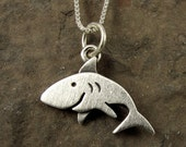 Tiny shark necklace / pendant