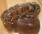 Handmade and Handpolished Jerry Moss Coconut Shell Belt