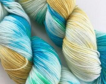 Sprite Sparkle Sock Yarn