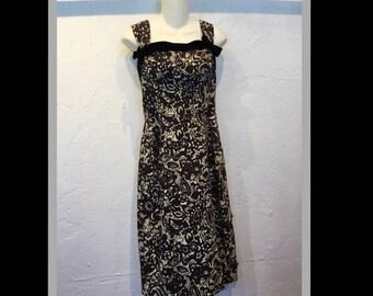 Vintage 1950s Desmond of California dress
