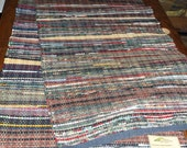 Handwoven Rag Rugs (Thorian of Blackwood,127)-101s