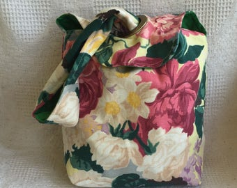 The Grommet Project Tote, Mid-Century Floral