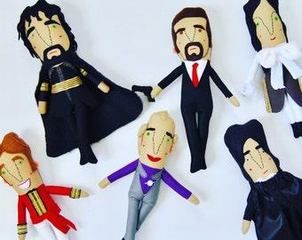 Alan Rickman Doll for Alan Rickman Super Fans //  Choose Your Own