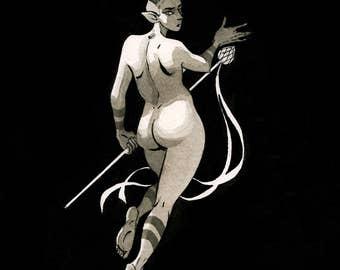 Maenad, 8.5x11 print