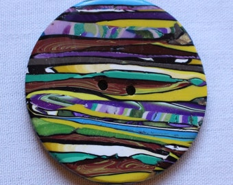 Extra Large Button Handcrafted 2 inches No. 350
