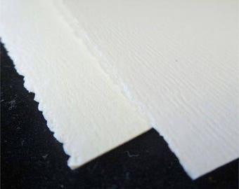 Neenah TETON 80lb text weight - DECKLE edge Paper - 50 pk