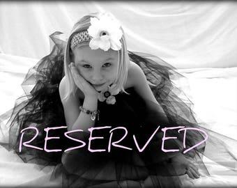Reserved for Kim Reyes - Liz-Maddi S - Custom Copenhagen tulle skirt