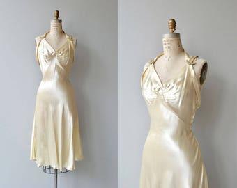 Ad Astra wedding gown | vintage 1930s wedding dress | silk 30s wedding dress