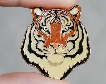 Siberian Tiger Resin Enamel Pin