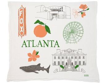Atlanta Tea Towel