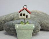 Good Soil...Stoneware Pendant
