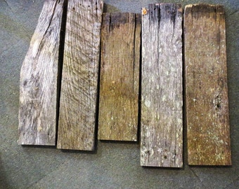 """Old Barn Boards 1' Thick 5"""" wide"""