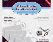 Scrapbook Adhesives 3D Foam Creative Embellishment Kit
