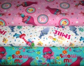 TROLLS   Fabrics, Sold INDIVIDUALLY not as a group, by the Half Yard