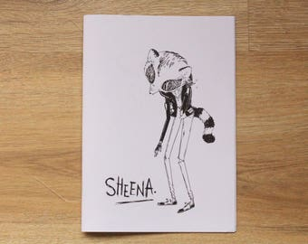 Illustration Zine Sheena Vol.1