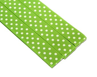Pattern Magnet - Chart Keeper Magnetic Bookmark - Knitting Crochet Supplies Tools - Set of 3 - Green Dots
