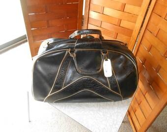 Vintage Black gym bag