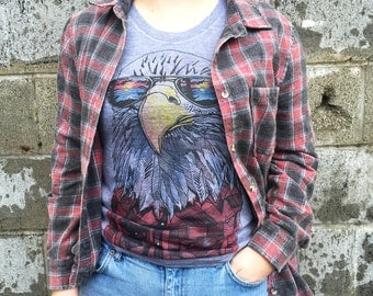 Hipster Eagle Ladies T-shirt