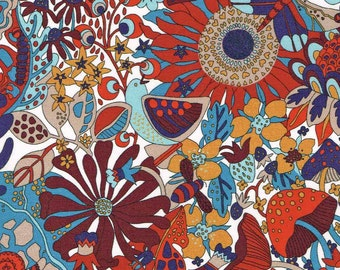 Liberty Tana Lawn Fabric Garden of Dreams Collection Fat Quarter Elodie Bea C